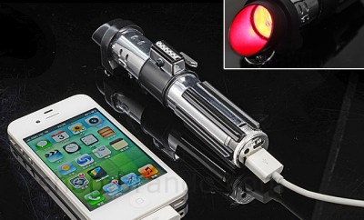 Darth Vader Lightsaber Portable Charger
